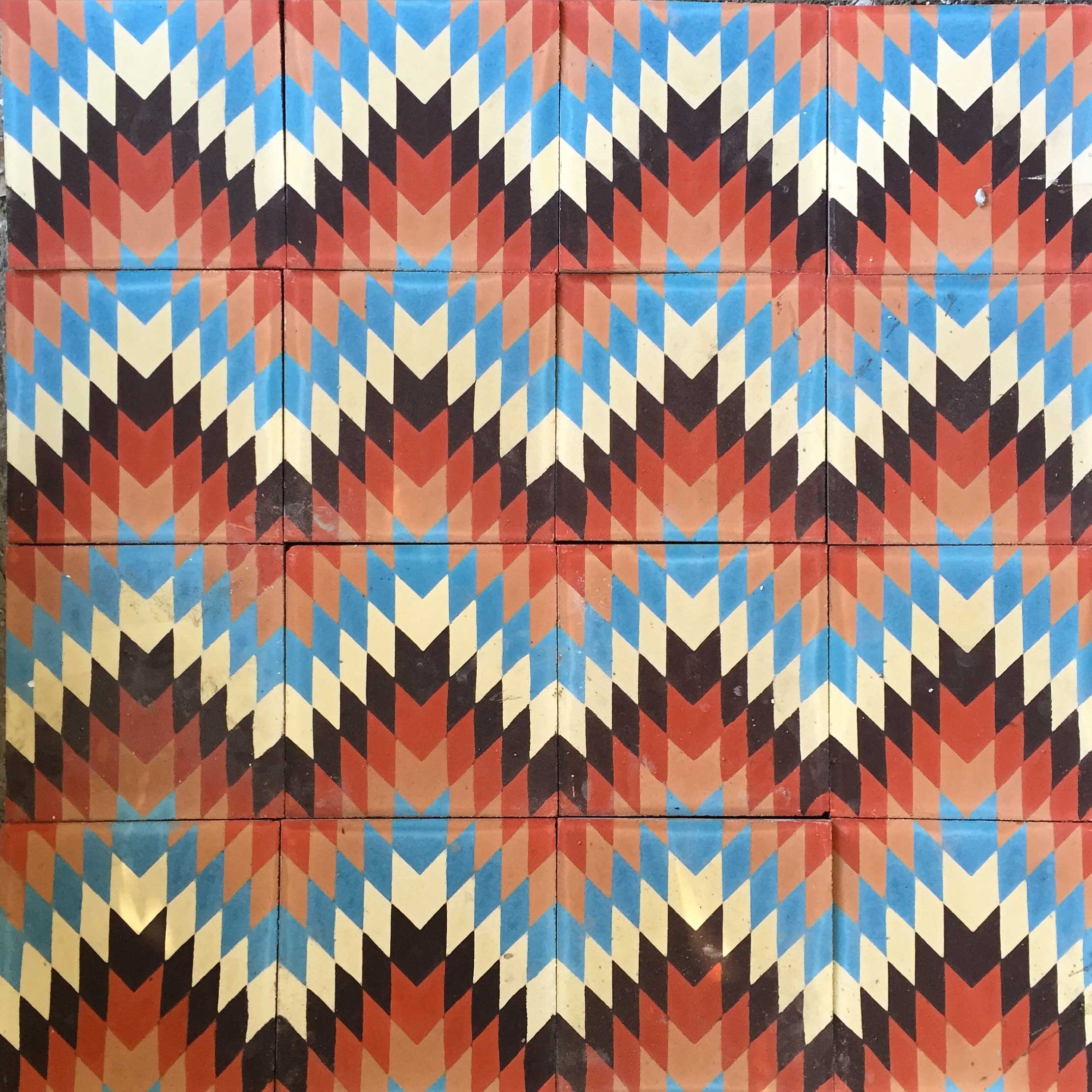 Mosaico tribal